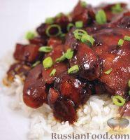 Фото к рецепту: Курица в соусе адобо