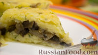 Фото к рецепту: Картофельные корзиночки с грибами