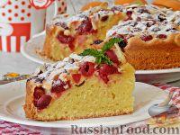 Фото к рецепту: Венский пирог с вишней