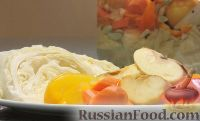 Фото к рецепту: Маринованная капуста с яблоками