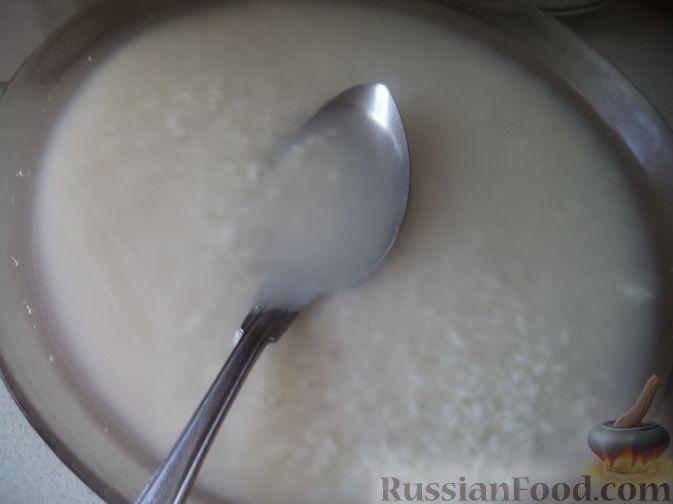 Фото приготовления рецепта: Перец, фаршированный рисом и баклажанами - шаг №4
