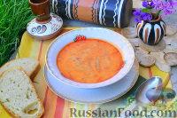 Фото к рецепту: Суп из стручковой фасоли, на сметане (пидбывани лопаткы)