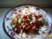 Фото к рецепту: Икра из печеных овощей с брынзой