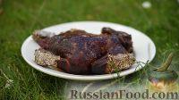 Фото к рецепту: Копчёный цыплёнок