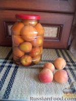 Фото к рецепту: Компот из абрикосов ускоренным способом (без стерилизации)