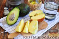 Фото приготовления рецепта: Витаминный смузи из авокадо и шпината - шаг №3
