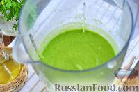 Фото приготовления рецепта: Витаминный смузи из авокадо и шпината - шаг №7