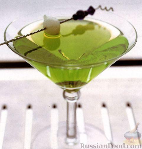 Рецепт Коктейль Зеленый Дракон (Green Dragon)