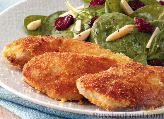 куриное филе с сыром в кляре на сковороде рецепт