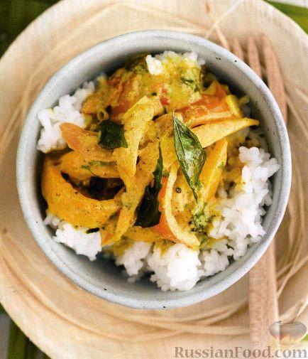 Рецепт Карри с томатами и манго