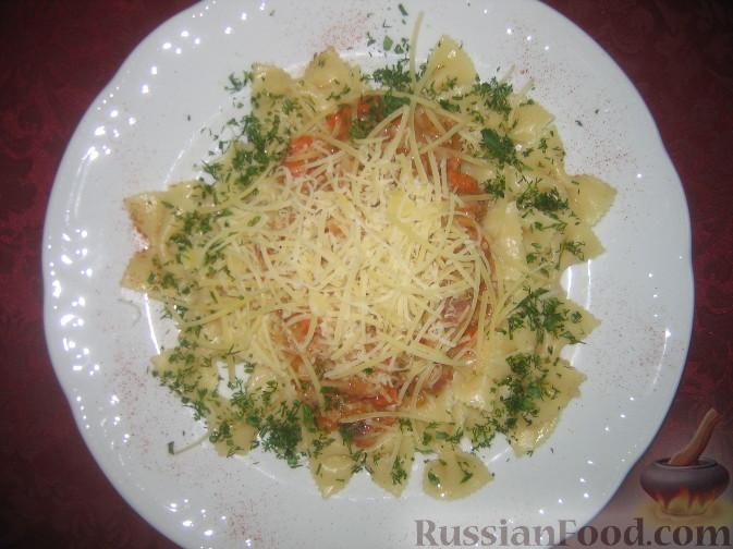 Рецепт Паста фарфале с неаполитанским соусом