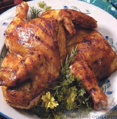 Рецепт Пикантная курица с горчицей