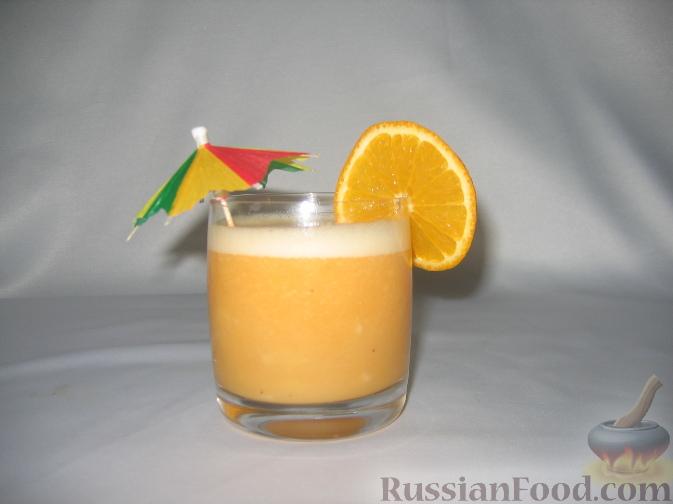 Рецепт Самый простой фруктовый смузи