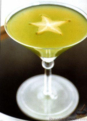 Рецепт Коктейль Изумрудная Звезда (Emerald Star)