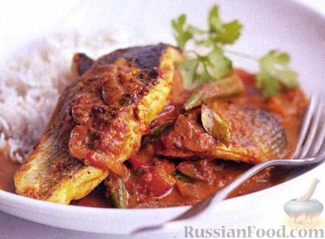 Рецепт Рыбное карри «Гоан»