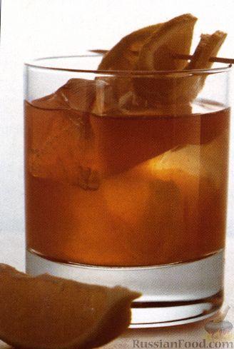 Рецепт Коктейль Кислый Виски (Whisky Sour)
