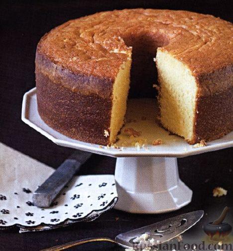 Рецепт Фунтовый пирог