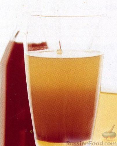 Рецепт Коктейль Восход Солнца с Текилой (Tequila Sunrise)