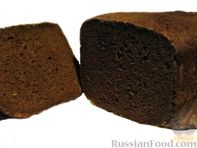 Заварной хлеб рецепт в духовке ржаной
