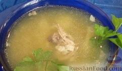 Рецепт Быстрый рыбный суп