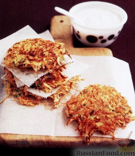 Рецепт Оладьи из картофеля и моркови