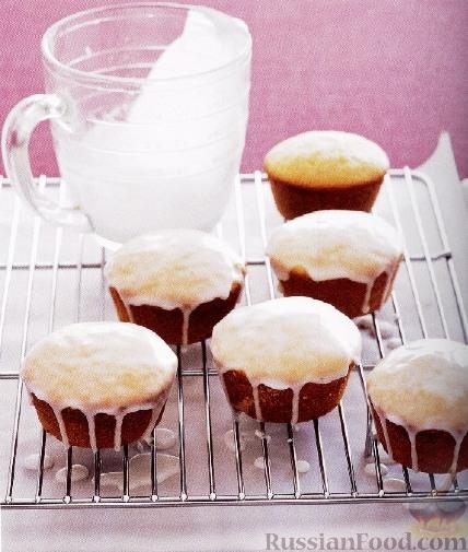 Рецепт Глазированные лимонные кексы