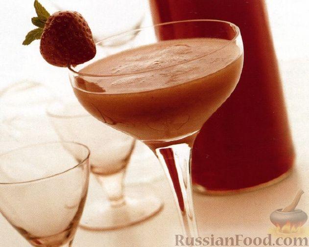 Рецепт Коктейль Замороженный Клубничный Дайкири (Frozen Strawberry Daiquiri)