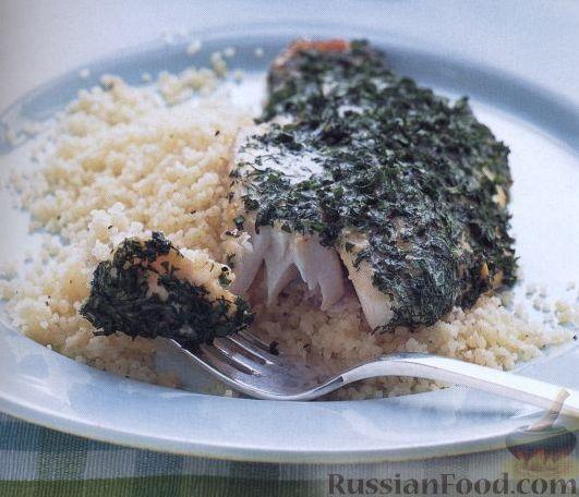 Рецепт Рыба с пряными травами