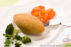Фото приготовления рецепта: Оладьи из яблока и кукурузы - шаг №2
