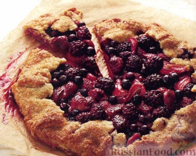 Рецепт Домашний пирог с ягодами