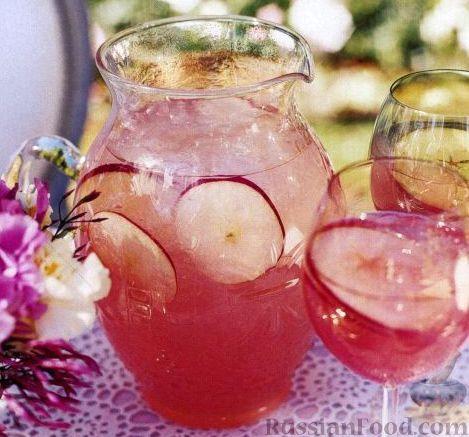Рецепт Яблочно-грейпфрутовый напиток