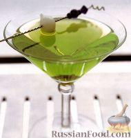Фото к рецепту: Коктейль Зеленый Дракон (Green Dragon)