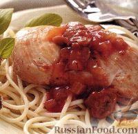 Фото к рецепту: Курица по-итальянски (Каччиаторе)