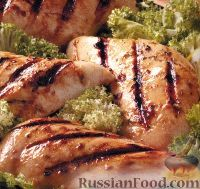 Фото к рецепту: Куриные грудки в майонезе с горчицей и пряностями
