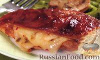 Фото к рецепту: Куриные грудки, жаренные с сыром