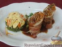 Фото к рецепту: Свинина с медом и розмарином