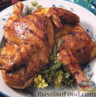 Фото к рецепту: Пикантная курица с горчицей