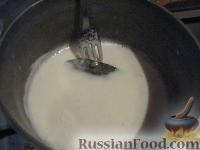 Фото приготовления рецепта: Мясная лазанья с грибами и соусом бешамель - шаг №4