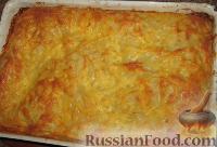 Фото приготовления рецепта: Мясная лазанья с грибами и соусом бешамель - шаг №8