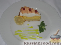 ���� � �������: ����� � ���� � �������� ������   (Crostata meringata con crema al limone)