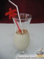 Фото к рецепту: Ароматизированный банановый коктейль