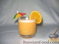 Фото к рецепту: Самый простой фруктовый смузи