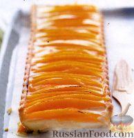 Фото к рецепту: Кокосовый пирог с манго и лемонграссом