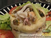 """Фото к рецепту: """"Остров сокровищ"""" или кускус с морепродуктами"""