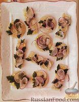 Фото к рецепту: Сэндвичи с редисом и петрушкой