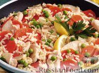 Фото к рецепту: Курица с рисом и лимоном