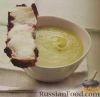 Фото к рецепту: Суп-пюре из спаржи
