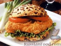 Фото к рецепту: Сэндвичи с курицей