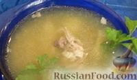 Фото к рецепту: Быстрый рыбный суп