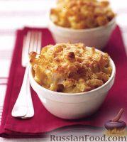 Фото к рецепту: Макароны с сыром
